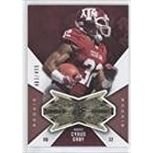 Cyrus Gray #483/499 (Football Card) 2012 SPx - Finite Rookies #F-CG