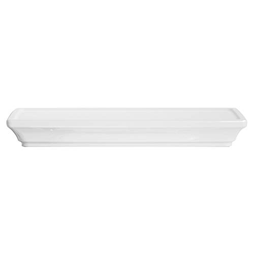 (American Standard 735219-400.020 Town Square S Toilet Tank Cover in White,)