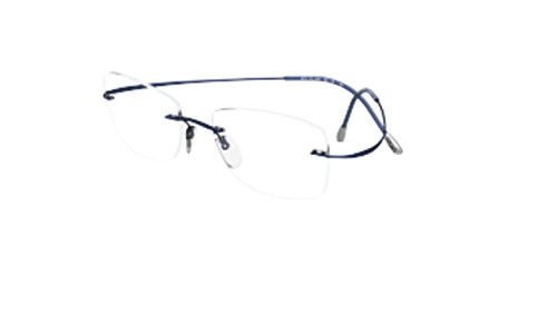 Eyeglasses Silhouette TMA Must Collection 2017 (5515) 4540 Moonlight Blue 54/1