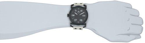 Vestal Men's OB3S001 USS Observer Blackout Silicone Watch