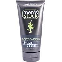 Aubrey Organics Shaving Cream (Men's North Woods Shave Cream Aubrey Organics 6 oz Cream)