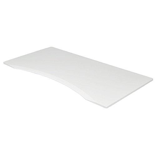 Pedestal 0.75 Top - Tripp Lite Sit Stand Desk Top for Height Adjustable Standing Desk, 60