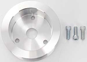 March Performance  5091 Crank Pulley for Small Block Chevy by MARCH (Image #1)