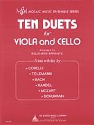 Ten Duets for Viola and Cello Hal Leonard Europe