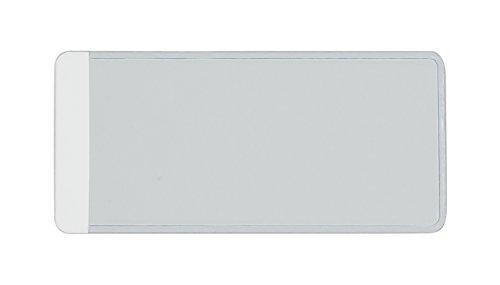 Amram Tag & Label Holders for Shelves & Bins, 1 3/8
