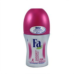 Fa Sport Double Power Sporty Fresh, 72h Deo Roll-on, ohne Alkohol - 50 ml