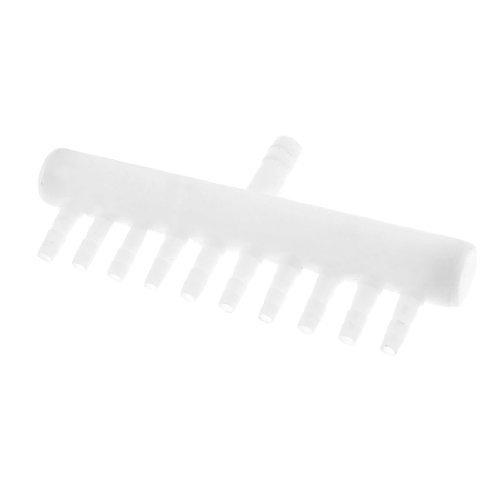 Amazon.com : eDealMax pecera de plástico Blanco DE 10 Puntos de ...