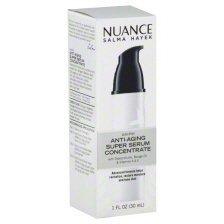Price comparison product image Nuance Salma Hayek AM/PM Anti-Aging Super Serum Concentrate 1 Ounce - Advanced Formula Helps Revitalize, Restores Moisture and Tone Skin