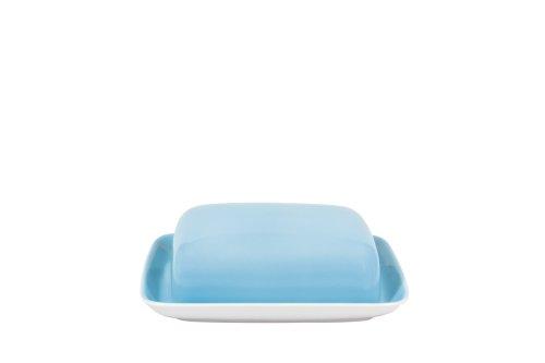 (KAHLA Pronto Butter Dish Angular, Sky Blue Color, 1 Piece)