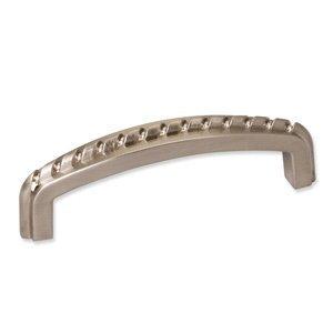 Satin Nickel Cabinet / Drawer Pull – Rope Design