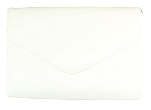 Donna Colori Bianco Nero Della 2store24 Elegante Altri Rosso Borsa In borsa Sera É 8E8x7nqz