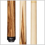 Players Exotic Design Series E-5100 Sneaky Pete Two-Piece Pool Cue Style: 20 oz.