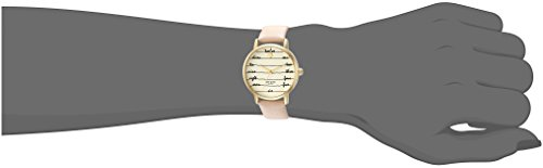 kate spade new york Women's 'Metro' Quartz Stainless Steel and Leather Casual Watch, Color:Brown (Model: KSW1059) by Kate Spade New York (Image #1)