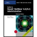 Guide to Novell NetWare 60/65 Adminstration ((REV)04) by Simpson, Ted - Simpson, Michael T [Paperback (2004)] by CT, Paperback(2004)