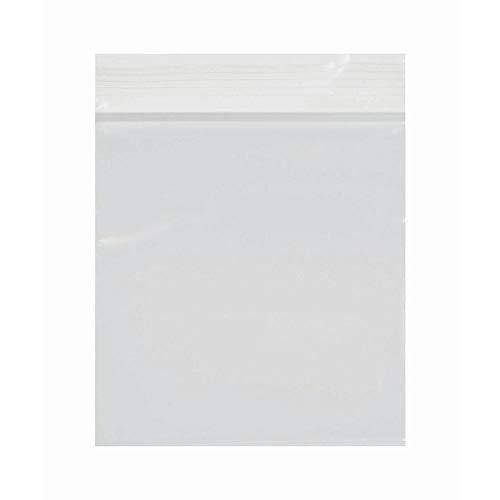 (Multi-Purpose Clear 2 Mil Plastic Zipper Bag - 3