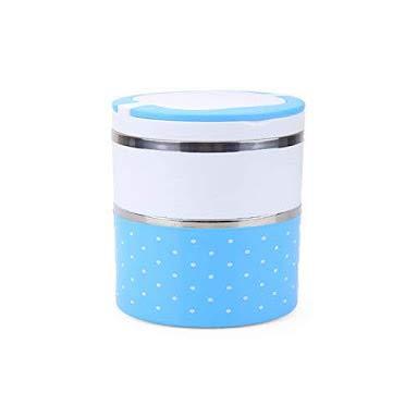 SukhKari Lunch Box Insulated Tiffin Box  2 SS Container