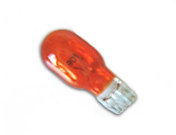 Eiko 43201 - 901A - 4 Watt Amber #901 Miniature Wedge Base Light Bulb, 12.8 Volts by ()