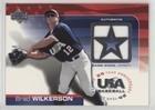 Brad Wilkerson #220/850 (Baseball Card) 2004 Upper Deck USA Baseball 25-Year Anniversary - Jerseys #GU-BW