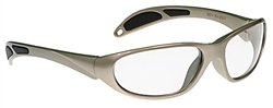 Ultra-Guard X-Ray Radiation Protection Glasses, 0.75mm Pb Equivalency Lens, Taupe by Colortrieve