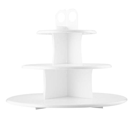 - Kitchen Supplies New Kitchen 3-Layer Cake Pop & Cupcake Stand Safe Food Grade Plastic Cupcake Stand Tool Accessories