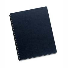 Total of 400 Each // Fellowes Inc : Linen Presentation Covers,11x8-1//2,200//PK,Black -:- Sold as 2 Packs of 200