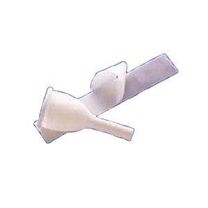 Drain Male External Catheter - Male External Catheter Golden-drain, Strap, Large