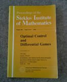 Optimal Control and Differential Games, , 0821831348