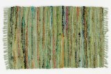 Sturbridge Country Rag Rug in Sage 24'' x 72'' by India Overseas Traders (Image #2)