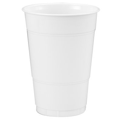 Creative Converting White 16 oz Plastic Cups - 20 ct