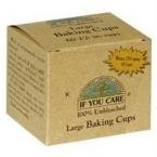 Price comparison product image If You Care Fsc Certified Unbleached Large Baking Cups - 60 Count