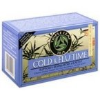 Triple Leaf Tea Cold Flu Time Tea, 20 Tea Bags per Box (Pack of 3 Boxes) (Best Herbs For Cold And Flu)