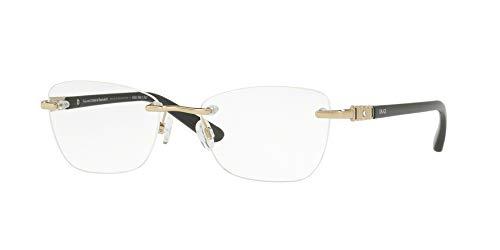 bce0bb5cad38e Óculos de Grau Grazi Massafera GZ1011B F077 Ouro Preto Com Cristais Da  SWAROVSKI Lente Tam 52