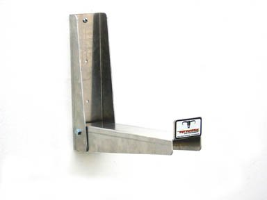 Pit Posse PP2324 Folding Hook Silver Aluminum Cabinet Shop Garage Enclosed Race Car NHRA Trailer Accessory