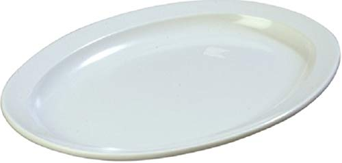 Z-Moments Western Melamine 515 Oval Platter Narrow Rim 13 1/4