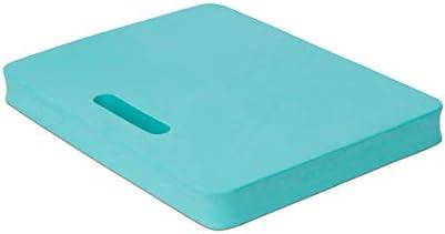 Kniekissen türkis 40x29x4cm - wasserdicht, wärmedämmend & abwaschbar - ideal für schonende Arbeit in Garten, Haushalt & Werkstatt oder als Sitzkissen