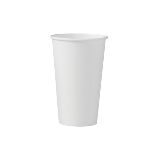 Solo 316W-2050 16 oz White SSP Paper Hot Cup (Case of 1000) by Solo Foodservice (Image #1)