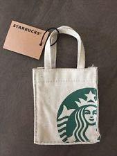 Starbucks Mini Canvas Tote Bag