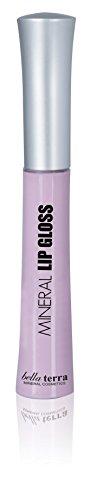 Bella Terra Mineral Lip Gloss | Long Lasting, Vitamin C, Moisturizing Lip Balm Lipstick (Lavender Kiss)
