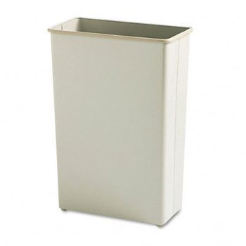 Safco® Square and Rectangular Fire-Safe Wastebaskets WASTEBASKET,22G,RECT,SD (Pack of2) (Rectangular Wastebasket Square)