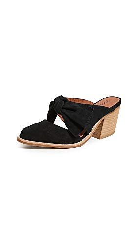 Jeffrey Campbell Women's Cyrus Block Heel Mules, Black, 6 M US