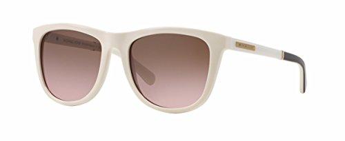 Michael Kors Algarve Sunglasses MK6009 301214 Oak White Black Brown Rose 54 18 - Sunglasses Kors White Michael