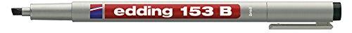 edding Non-permanent Pen edding 153 B, 1-3 mm, schwarz