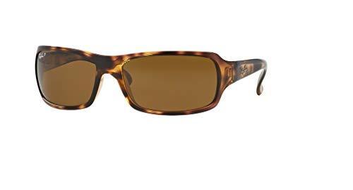 Ray-Ban RB4075 642/57 61M Havana/Brown Crystal Polarized Sunglasses For Men For Women ()