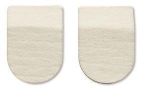 HAPAD Heel Pads, 2-1/2 x 5/16 inches, case of 12 pairs by HAPAD