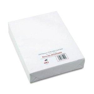 Okidata Oki Premium Card Stock Heavy-Weight Coated Paper - Letter A Size (8.5 In X 11 In