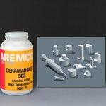 Ceramabond 503 Alumina Adhesive, Quart