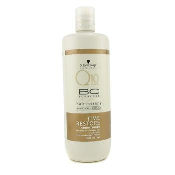 BC Time Restore Q10 Conditioner ( For Mature and Fragile Hair ) - Schwarzkopf - Bonacure - 1000ml/34oz ()