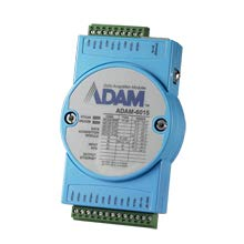 Adam Modules - Advantech ADAM-6015-DE, 7 Channel Isolated RTD Input Module, Modbus TCP Module, ADAM-6015-DE, Replacement of ADAM-6015-BE. Ethernet I/O Module.
