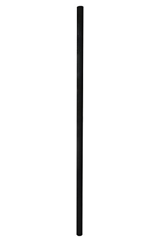 Espero 72-in Outdoor Light Post with Fiberglass Lamp Post for Yard Driveway,Black 2 ()