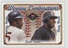 Barry Bonds; Bobby Bonds (Baseball Card) 2001 Fleer Platinum - Winning Combinations Blue - Retail #12 WC